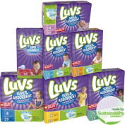 Luvs Super Absorbent Leakguards Nappies, Size 5, 25 Nappies