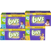 Luvs Ultra Leakguards Nappies, Big Pack