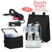 Ameda 17077KIT7 Purely Yours Breast Pump Combo 7 with Carry All Bag and a Fr