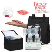Ameda 17077KIT2 Purely Yours Breast Pump Combo 2 with Carry All Bag Free Comf