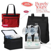 Ameda 17077KIT1 Purely Yours Breast Pump Combo 1 with Carry All Bag Free Omro