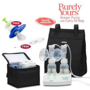 Ameda 17077KIT6 Purely Yours Breast Pump Combo 6 with Carry All Bag Free Omr