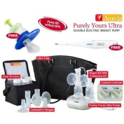 Ameda 17085KIT3 Combo 3 Purely Yours Ultra Breast Pump With Free Omron Digital
