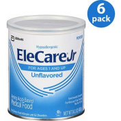 EleCare Jr Unflavored Canned Powder Medical Food, 420ml,