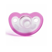 JollyPop 0 to 3 Months Unscented Pacifier - Pink