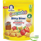 Gerber Graduates Bitty Bites Strawberry Multi-Grain Nuggets, 70ml