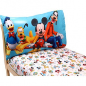 Disney Mickey Mouse Playground Pals 2-Piece Toddler Sheet Set