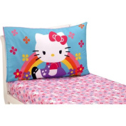 Hello Kitty Stars and Rainbows 2-Pack Toddler Sheet Set