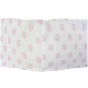 My Baby Sam Chevron Sheet, Pink/Grey