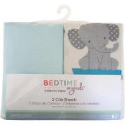 Bedtime Originals Choo Choo Set of 2 Fitted Crib Sheets