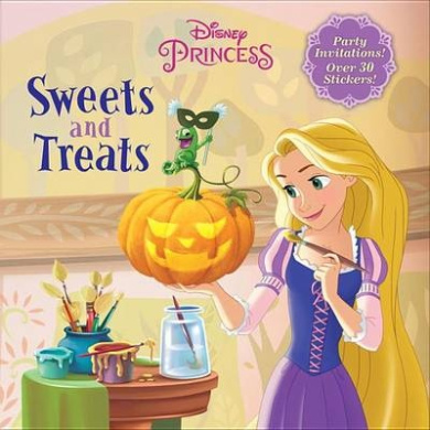 Sweets and Treats (Disney Princess) (Glow-In-The-Dark Board Book)
