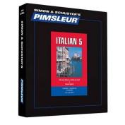 Pimsleur Italian Level 5 CD [Audio]