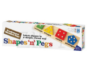 Traditional Wooden Toys - Shapes 'N' Pegs