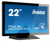 IIYAMA T2234MC-B1X - 22TFT LCD Touch Screen Projective Capacitive USB Black (Manufacturer's SKU:ProLite T2234MC-B1X)'