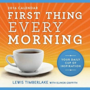 2016 First Thing Every Morning Boxed Calendar