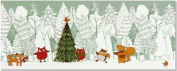 Woodland Friends Panoramic Boxed Holiday Cards