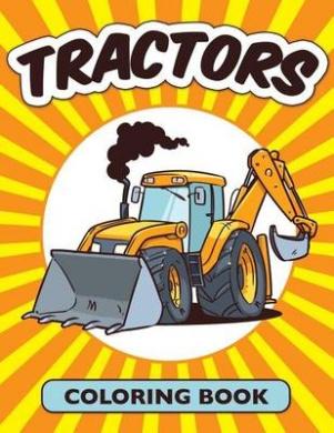 Tractors Coloring Book (Avon Coloring Book)