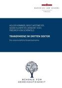 Transparenz Im Dritten Sektor