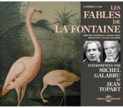 Fables de La Fontaines Interpretees Par Michel Galabru Et Jean Topart  [Audio]