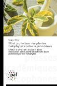 Effet Protecteur Des Plantes Halophytes Contre La Plombemie  [FRE]