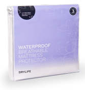DryLife Waterproof Breathable Mattress Protector King Single