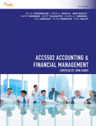 CP1019 - ACC5502 Accounting & Financial Management