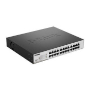 D-Link DGS-1100-24P 24-Port Gigabit EasySmart PoE Switch with 12 x PoE/PoE+