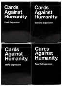 Cards Against Humanity - All 4 Expansion Packs