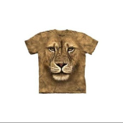 Lion Warrior Adult T-Shirt by The Mountain - 10-3180, ADULT S