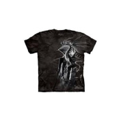 Silver Dragon Adult T-Shirt by The Mountain - 102258, ADULT S