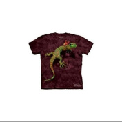 Peace Out Gecko Youth T-Shirt by The Mountain - 15-3119, CHILD M