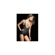 Flexees 2656 Ultimate Slimmer Wear Your Own Bra Wyob Torsette Body Briefer Size Extra Large - Black