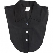 WalterDrake One Size Black Blouse Dicky