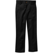 George Boys & #8217; Slim Flat Front Twill Pant With Scotchguard