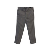 Grey Flat Front Boys Special Occasion Dress Pants 12