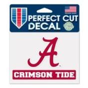Alabama Crimson Tide Official 10cm x 13cm Die Cut Decal by Wincraft 37534014
