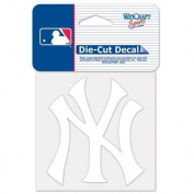 New York Yankees Official MLB 10cm x 10cm Die Cut Car Decal by Wincraft