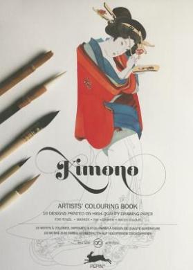 Kimono: Artists' Colouring Book