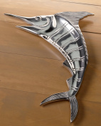 Large 50cm Casted Aluminium Marlin Platter by KINDWER