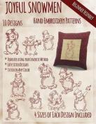 Joyful Snowmen Hand Embroidery Patterns