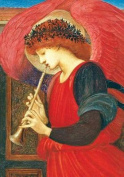 Red Harmonious Angel Boxed Holiday Half Notecards