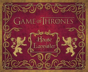 Game of Thrones Lannister DeluxestationeryKit