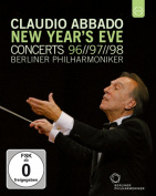 Claudio Abbado/Berliner Philharmoniker [Regions 1,2,3] [Blu-ray]