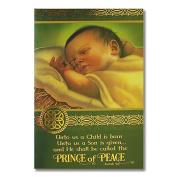 Irish Jesus Christmas Card
