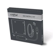 """Crucial SSD Install Kit for Desktop & Laptop PC , 3.5"""" Bracket and data transfer software included"""