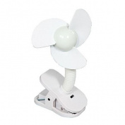 DreamBaby L229 Stroller Fan - White