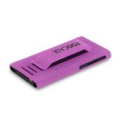 iPod Nano 7 Case - roocase Ultra Slim Fit (Matte Purple) Shell Case Cover for Apple iPod Nano 7