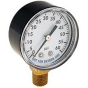 National Brand Alternative 712013 Pressure Gauge 060 Back Mount