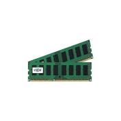 Crucial - DDR3 - 4 GB : 2 x 2 GB - DIMM 240-pin - 1600 MHz / PC3-12800 - CL11 - 1.5 V - unbuffered - non-ECC