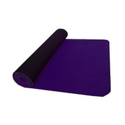 thinksport SM572P Yoga/Pilates Mat - Purple/Black